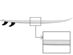 サーフボード RAIL (レール ) 種類