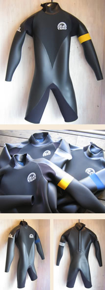 ウエットスーツ 種類 名称 デザイン